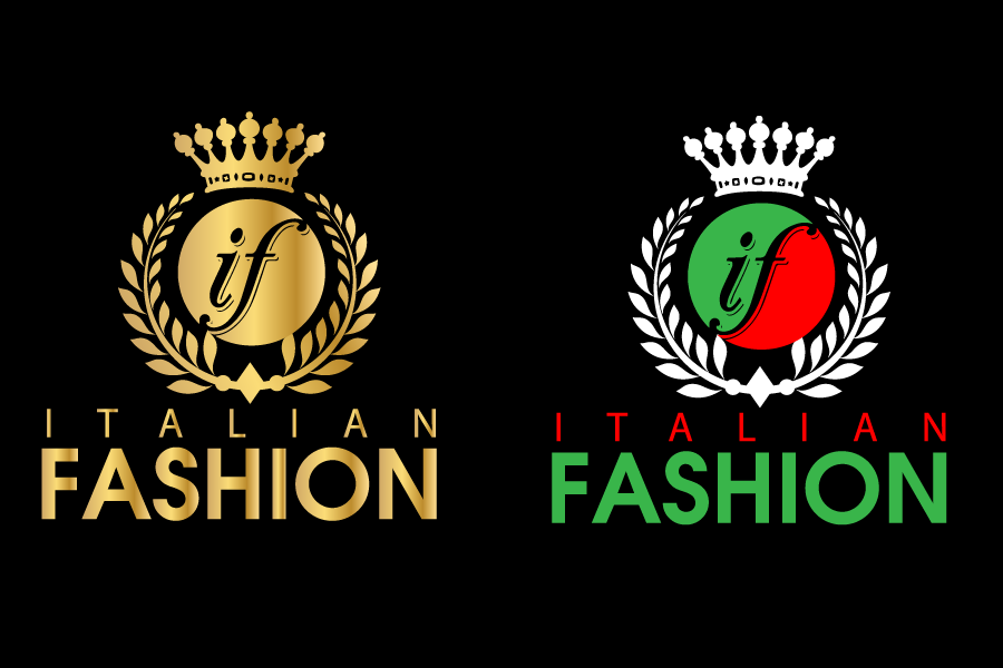 Logo Design by Private User - Entry No. 54 in the Logo Design Contest Logo for Web Page ItalianFashion.cz.