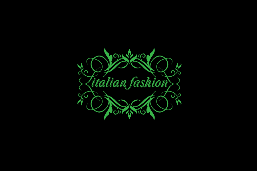 Logo Design by Private User - Entry No. 56 in the Logo Design Contest Logo for Web Page ItalianFashion.cz.
