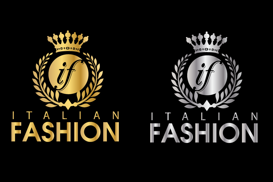 Logo Design by Private User - Entry No. 57 in the Logo Design Contest Logo for Web Page ItalianFashion.cz.