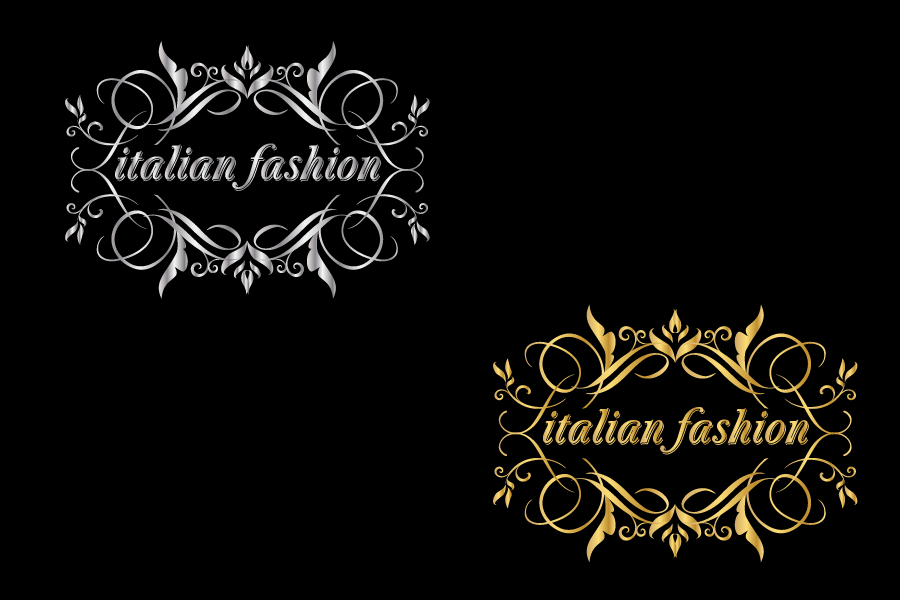 Logo Design by Private User - Entry No. 58 in the Logo Design Contest Logo for Web Page ItalianFashion.cz.