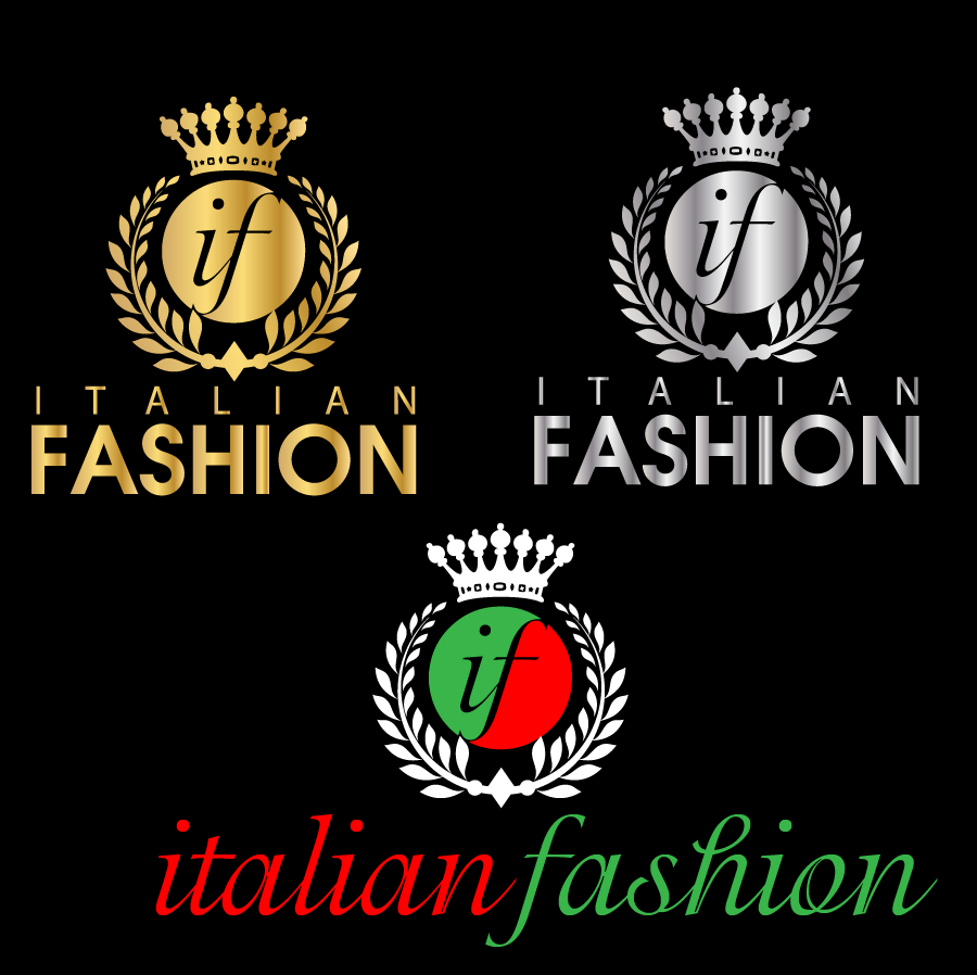 Logo Design by Private User - Entry No. 59 in the Logo Design Contest Logo for Web Page ItalianFashion.cz.