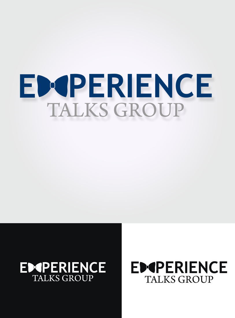 Logo Design by Private User - Entry No. 18 in the Logo Design Contest Captivating Logo Design for Experience Talks Group.