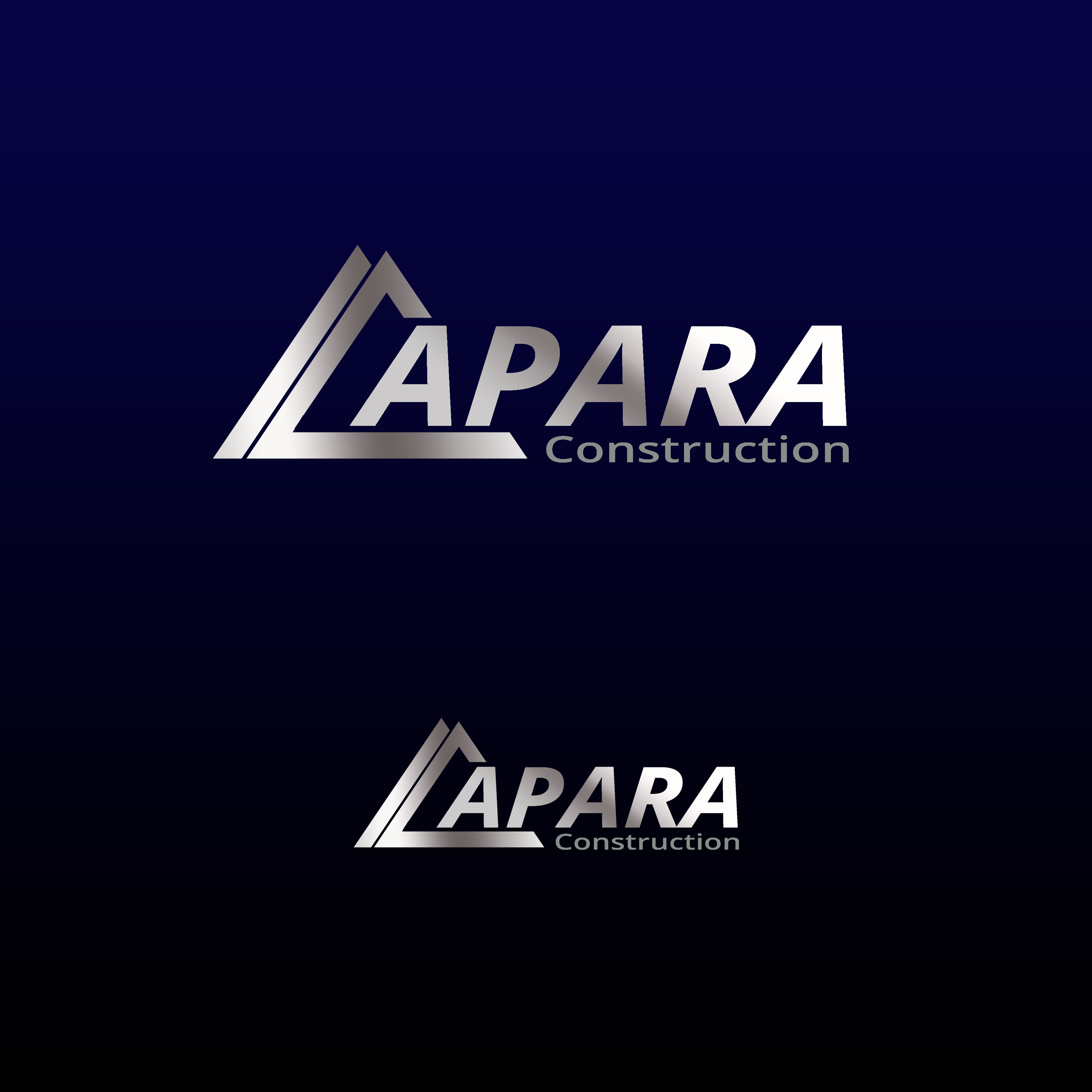 Logo Design by Allan Esclamado - Entry No. 163 in the Logo Design Contest Apara Construction Logo Design.