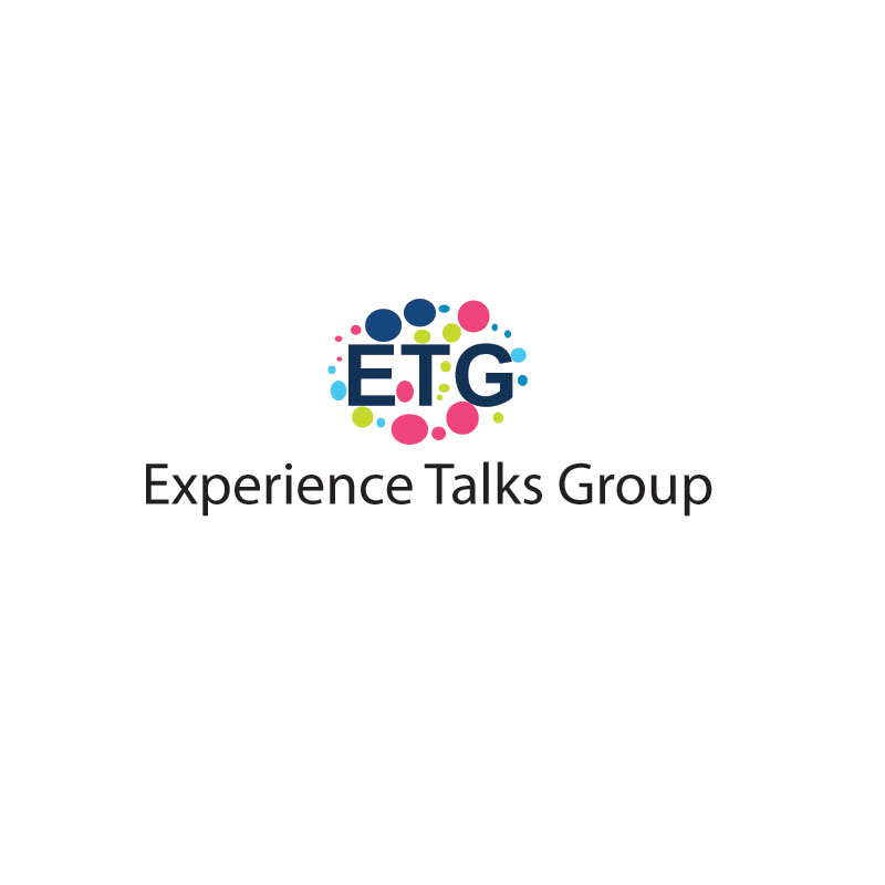Logo Design by Private User - Entry No. 19 in the Logo Design Contest Captivating Logo Design for Experience Talks Group.