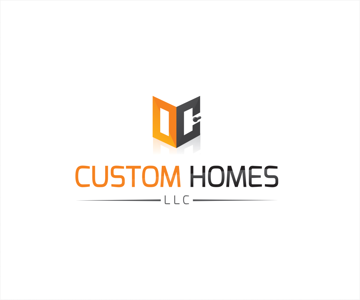 Logo Design by Private User - Entry No. 64 in the Logo Design Contest Creative Logo Design for DC Custom Homes.