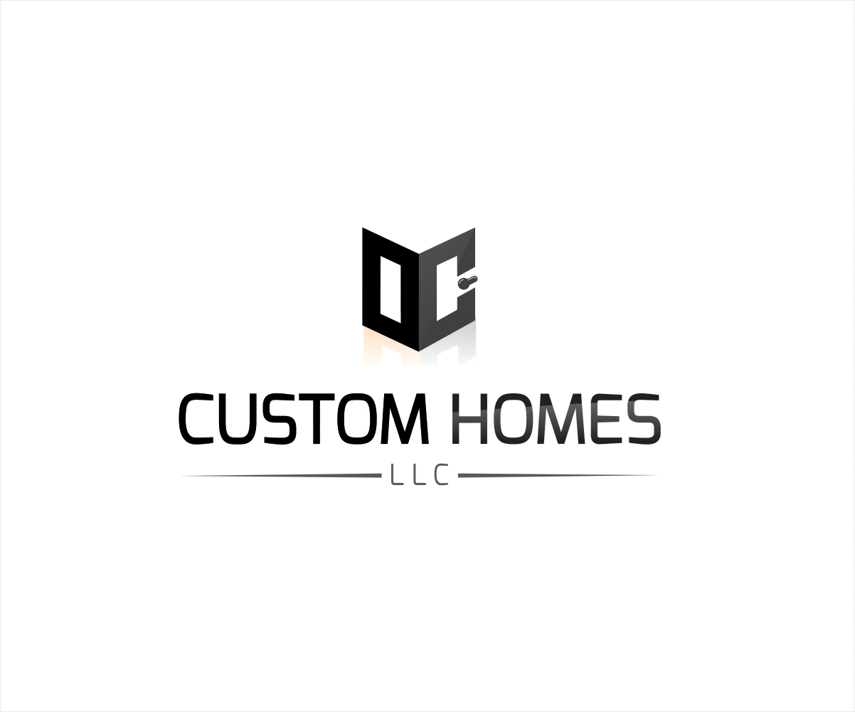 Logo Design by Private User - Entry No. 65 in the Logo Design Contest Creative Logo Design for DC Custom Homes.