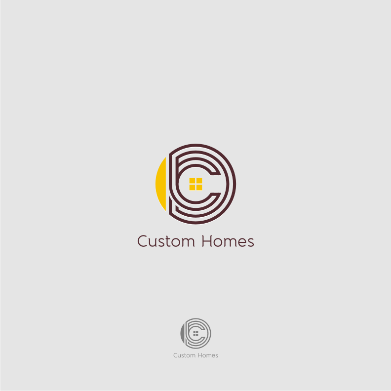 Logo Design by graphicleaf - Entry No. 77 in the Logo Design Contest Creative Logo Design for DC Custom Homes.
