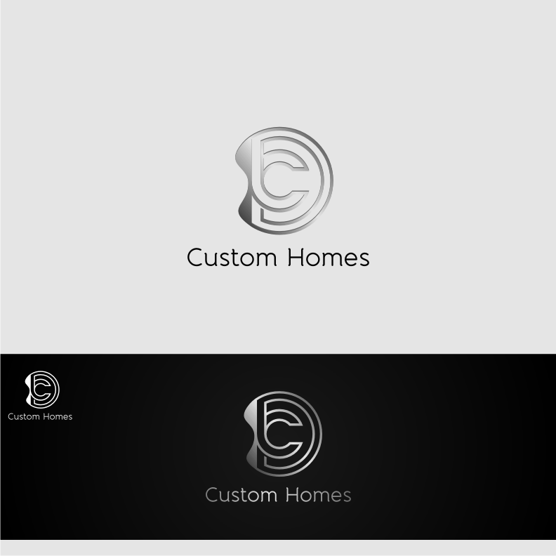 Logo Design by graphicleaf - Entry No. 79 in the Logo Design Contest Creative Logo Design for DC Custom Homes.