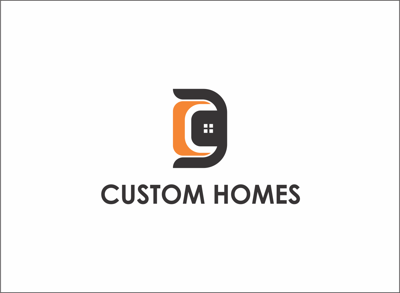 Logo Design by Armada Jamaluddin - Entry No. 81 in the Logo Design Contest Creative Logo Design for DC Custom Homes.