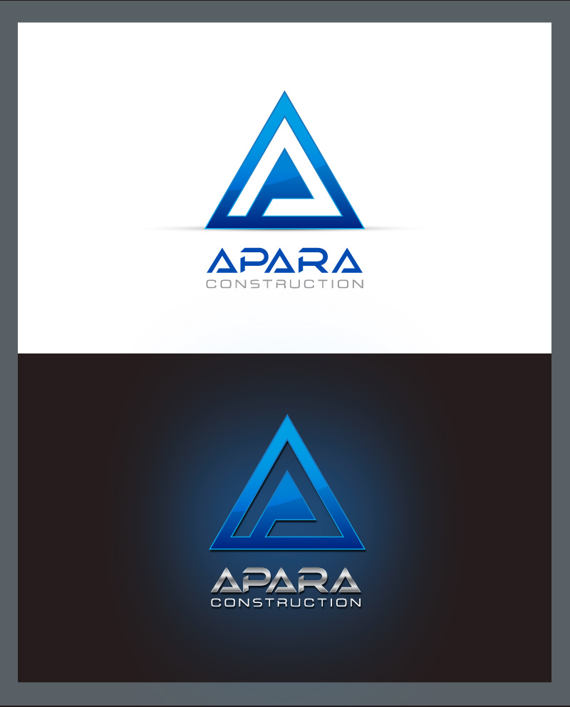 Logo Design by Puspita Wahyuni - Entry No. 165 in the Logo Design Contest Apara Construction Logo Design.