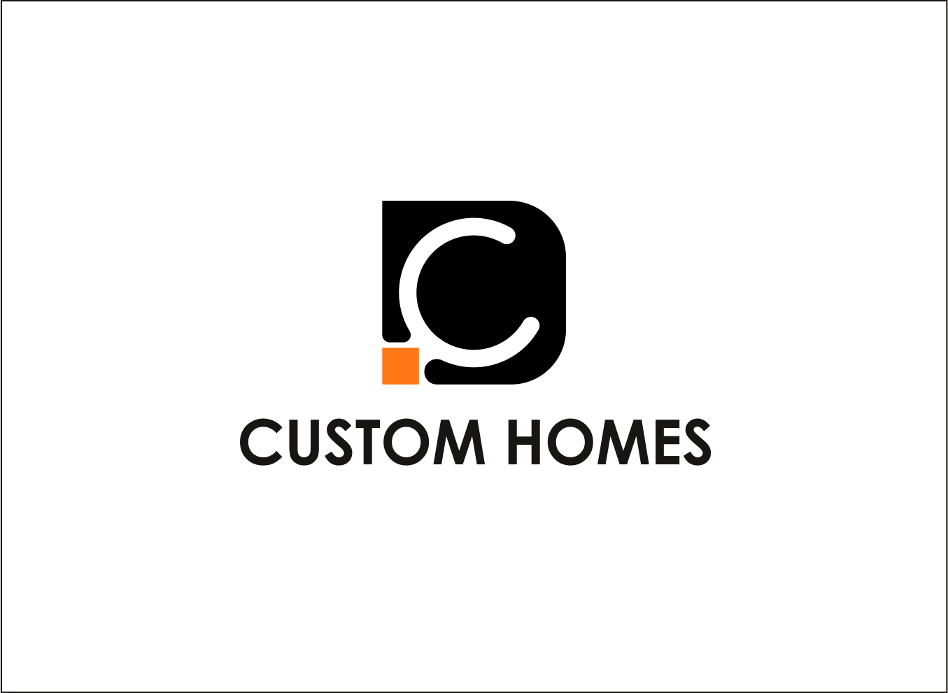 Logo Design by Armada Jamaluddin - Entry No. 85 in the Logo Design Contest Creative Logo Design for DC Custom Homes.