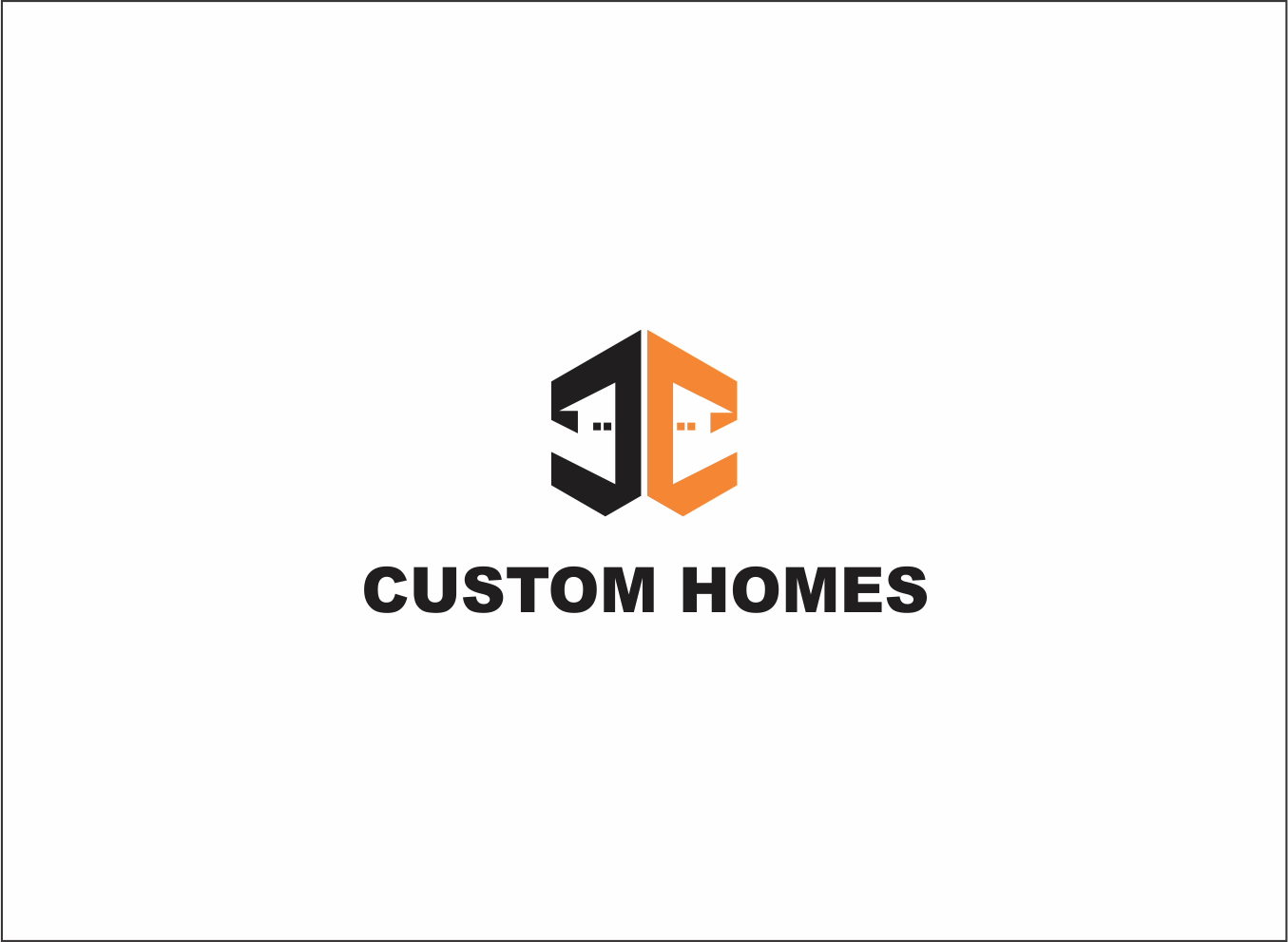 Logo Design by Armada Jamaluddin - Entry No. 86 in the Logo Design Contest Creative Logo Design for DC Custom Homes.