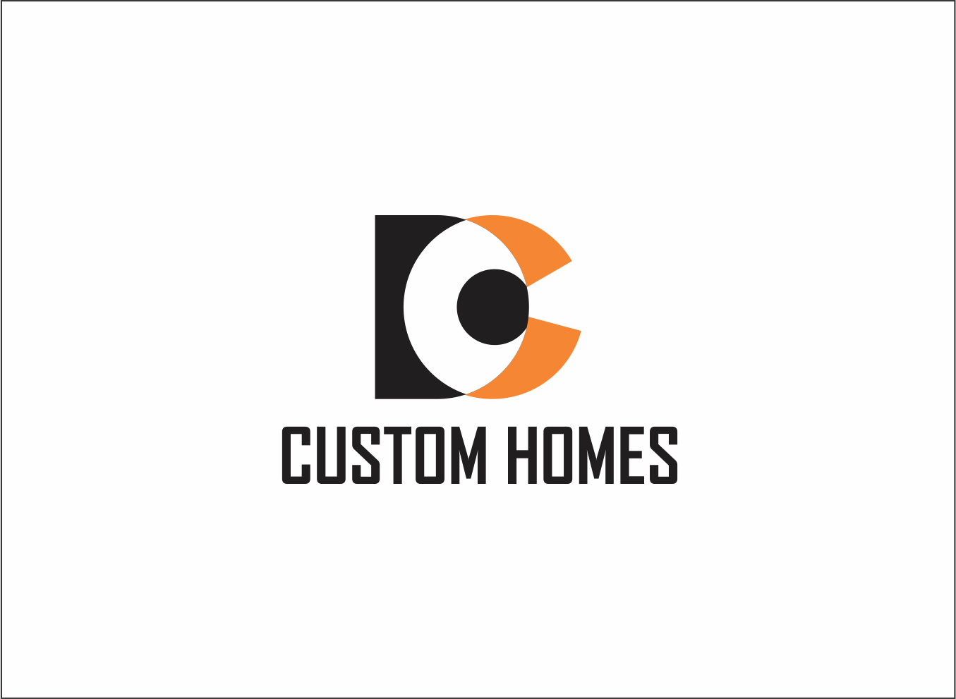 Logo Design by Armada Jamaluddin - Entry No. 87 in the Logo Design Contest Creative Logo Design for DC Custom Homes.