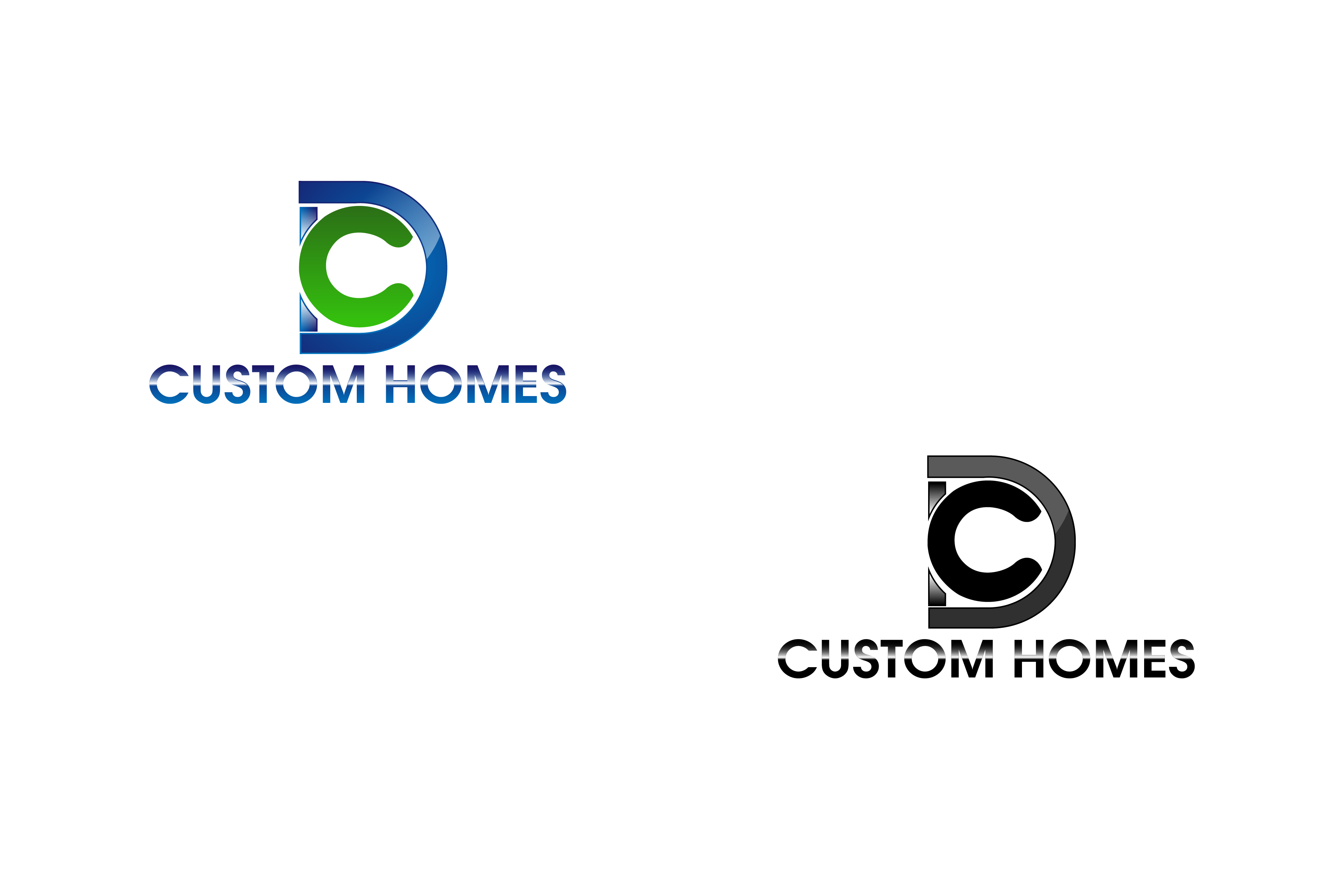 Logo Design by Private User - Entry No. 99 in the Logo Design Contest Creative Logo Design for DC Custom Homes.