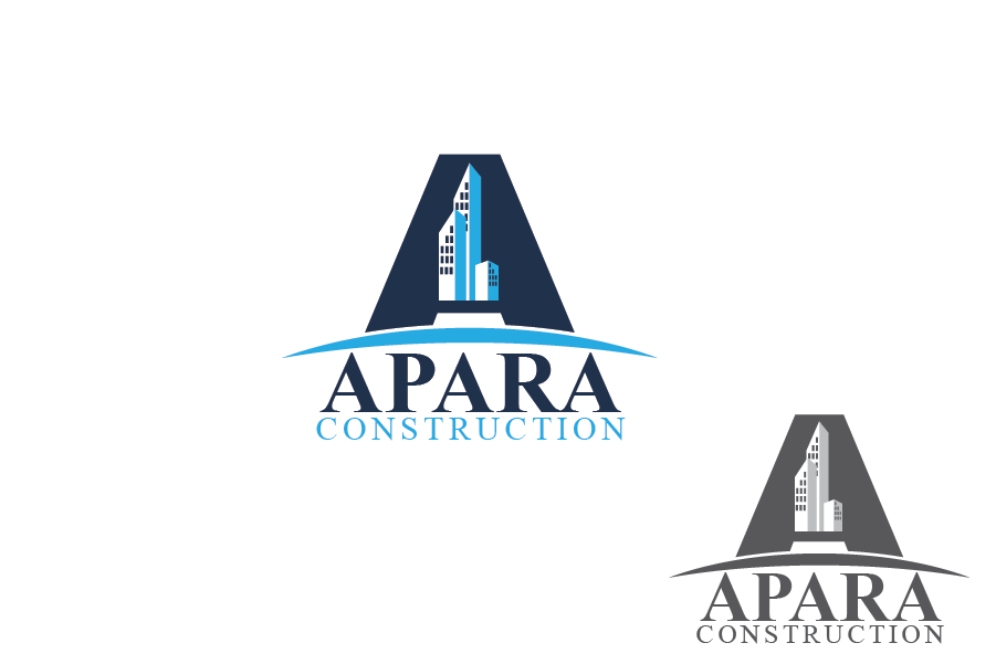 Logo Design by Private User - Entry No. 170 in the Logo Design Contest Apara Construction Logo Design.