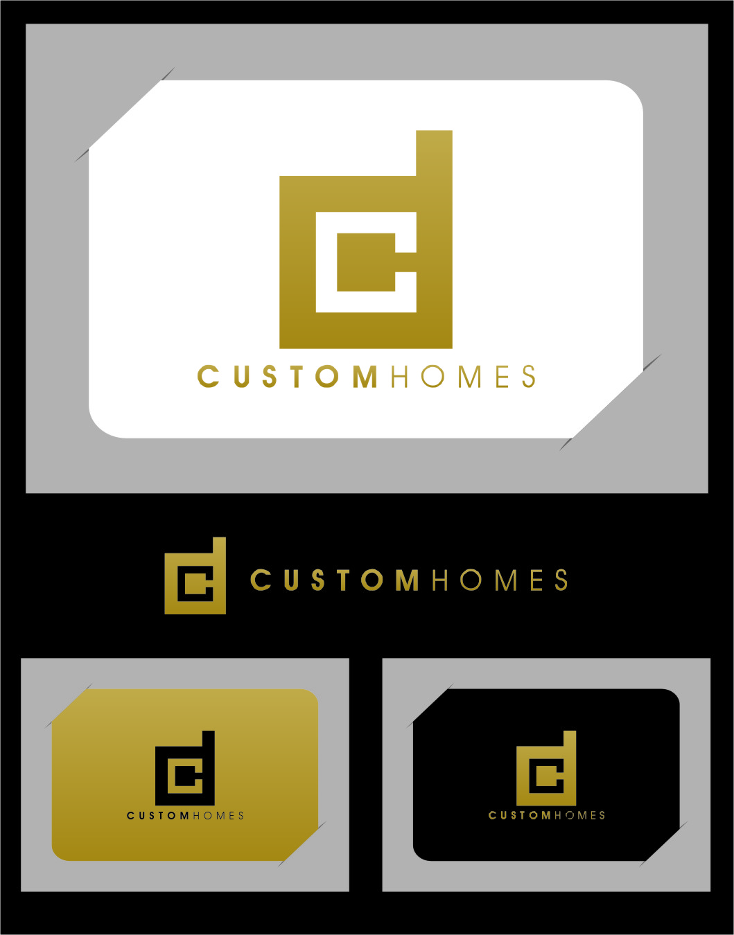 Logo Design by RasYa Muhammad Athaya - Entry No. 106 in the Logo Design Contest Creative Logo Design for DC Custom Homes.