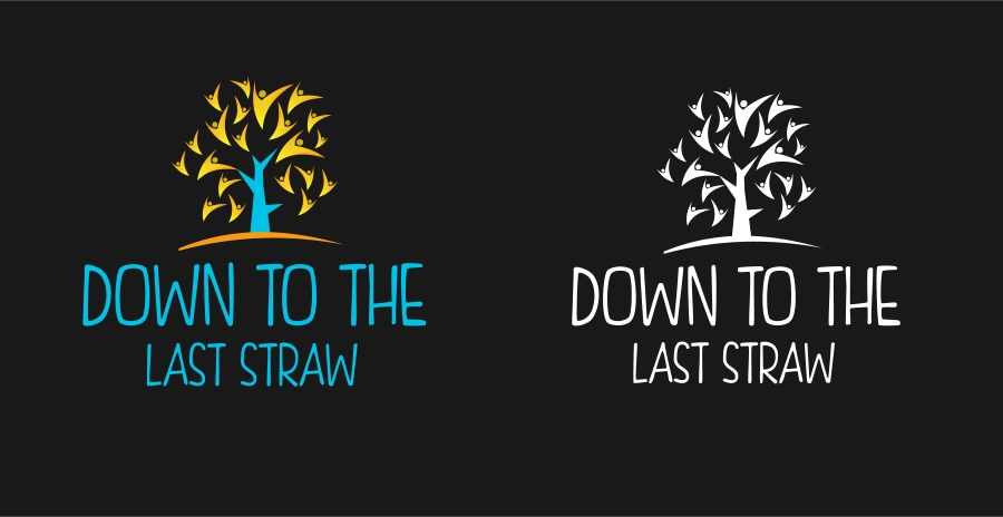 Logo Design by Private User - Entry No. 9 in the Logo Design Contest New Logo Design for DOWN TO THE LAST STRAW.