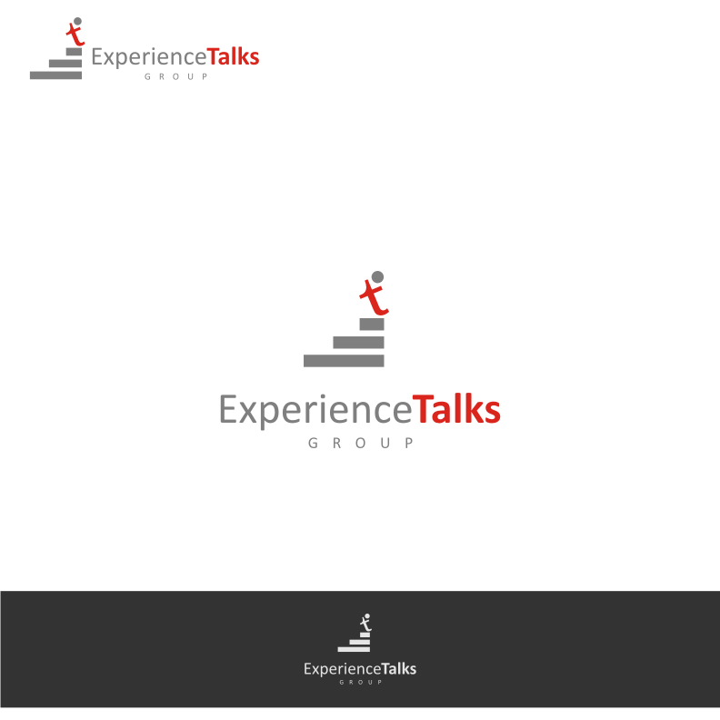 Logo Design by graphicleaf - Entry No. 24 in the Logo Design Contest Captivating Logo Design for Experience Talks Group.