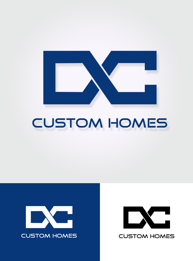 Logo Design by Private User - Entry No. 109 in the Logo Design Contest Creative Logo Design for DC Custom Homes.