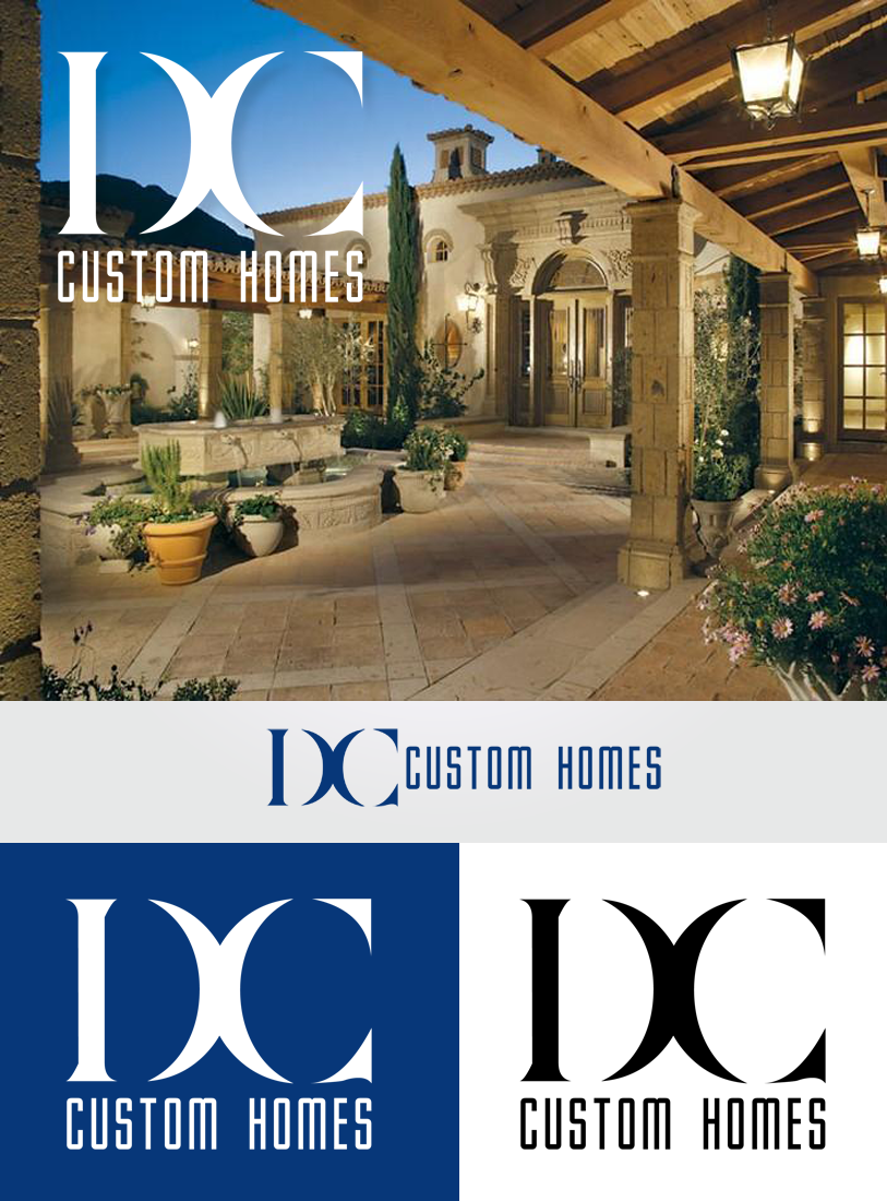Logo Design by Robert Turla - Entry No. 110 in the Logo Design Contest Creative Logo Design for DC Custom Homes.