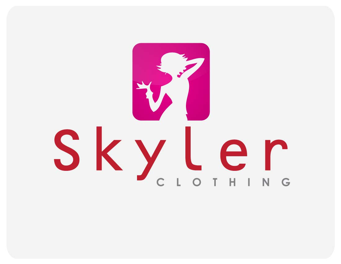 Logo Design by j355ie - Entry No. 58 in the Logo Design Contest Skyler Clothing Logo.