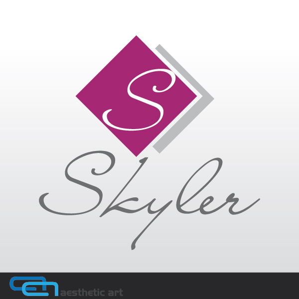 Logo Design by aesthetic-art - Entry No. 59 in the Logo Design Contest Skyler Clothing Logo.