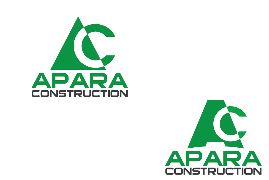 Logo Design by brands_in - Entry No. 201 in the Logo Design Contest Apara Construction Logo Design.