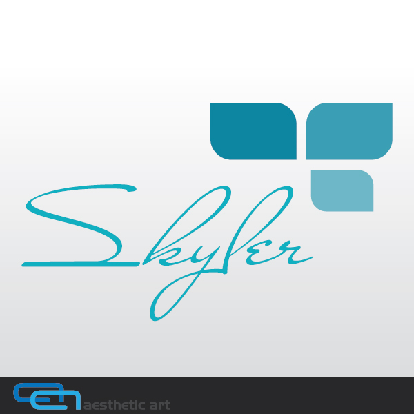 Logo Design by aesthetic-art - Entry No. 61 in the Logo Design Contest Skyler Clothing Logo.