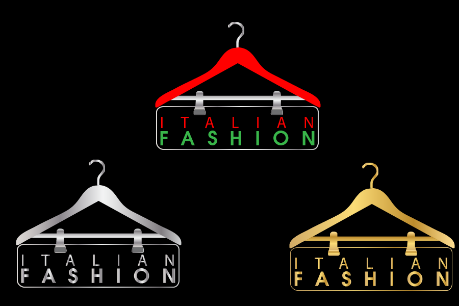 Logo Design by Private User - Entry No. 67 in the Logo Design Contest Logo for Web Page ItalianFashion.cz.