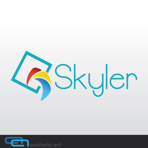 Logo Design by aesthetic-art - Entry No. 62 in the Logo Design Contest Skyler Clothing Logo.
