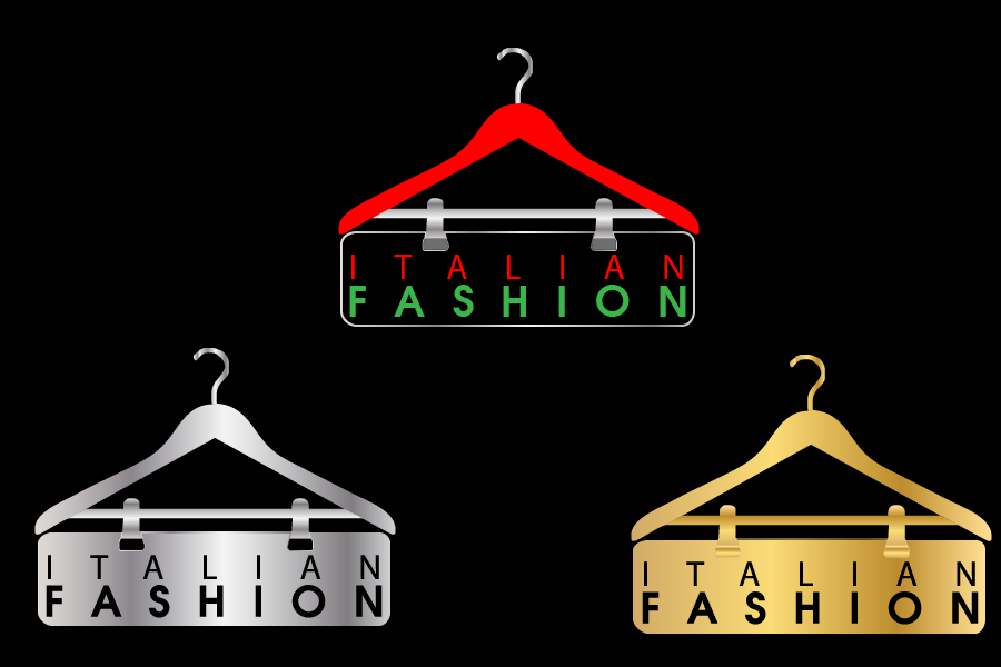 Logo Design by Private User - Entry No. 68 in the Logo Design Contest Logo for Web Page ItalianFashion.cz.
