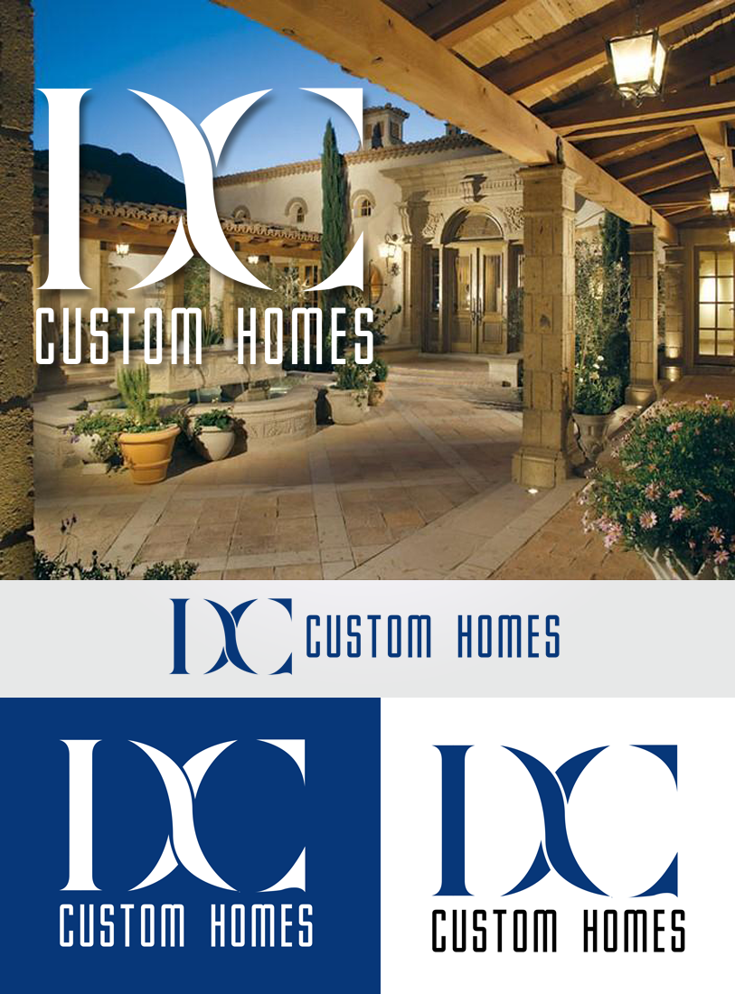 Logo Design by Private User - Entry No. 115 in the Logo Design Contest Creative Logo Design for DC Custom Homes.