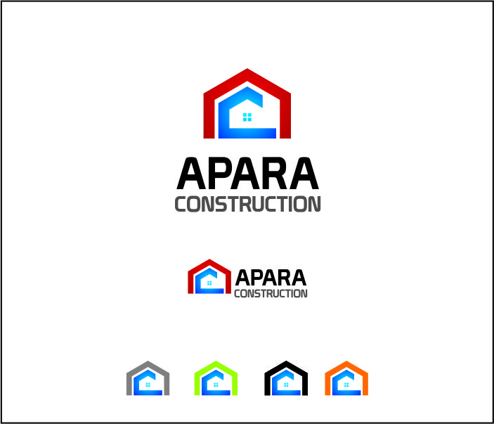 Logo Design by Armada Jamaluddin - Entry No. 206 in the Logo Design Contest Apara Construction Logo Design.