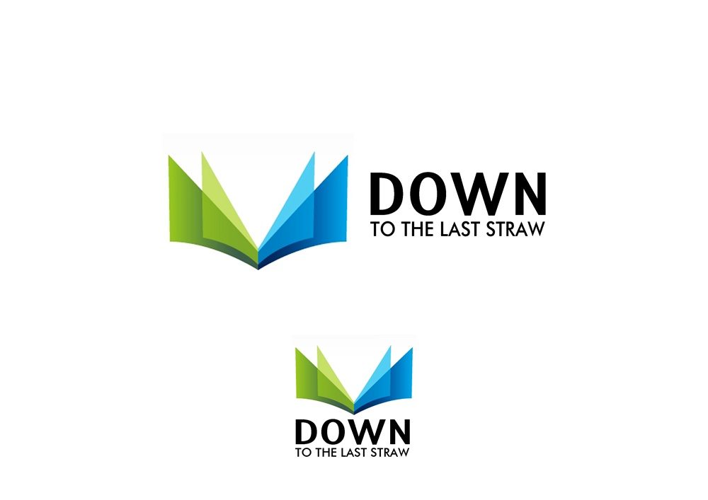 Logo Design by Respati Himawan - Entry No. 14 in the Logo Design Contest New Logo Design for DOWN TO THE LAST STRAW.