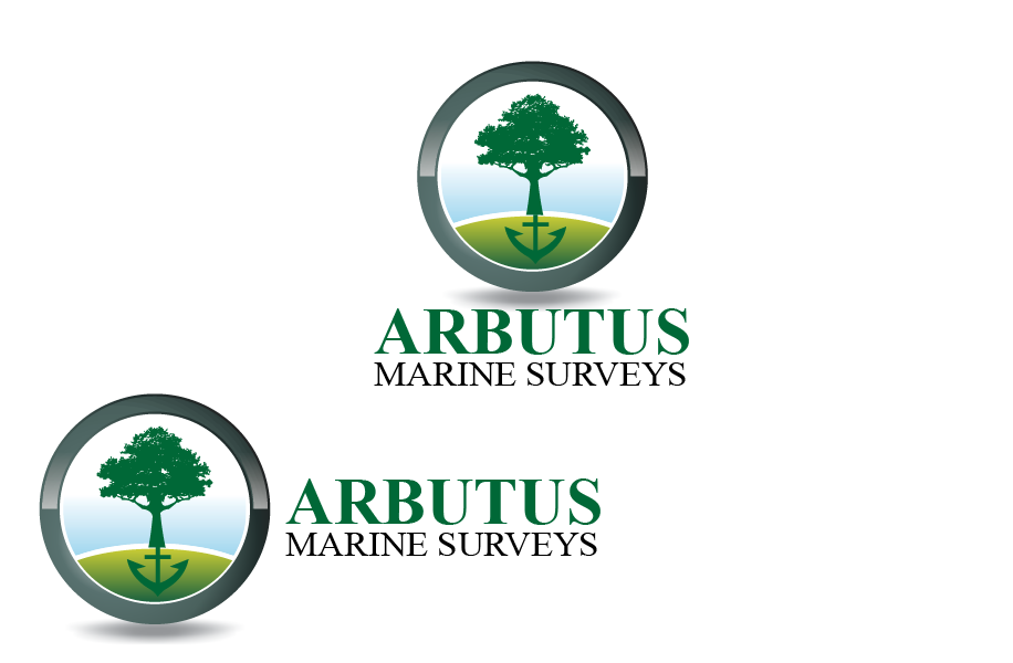 Logo Design by Private User - Entry No. 3 in the Logo Design Contest Professional Business Logo Design for Arbutus Marine Surveys.