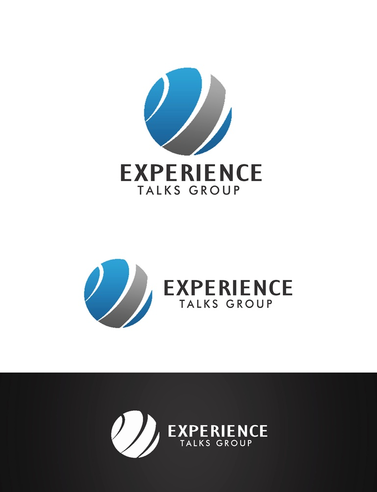 Logo Design by Respati Himawan - Entry No. 25 in the Logo Design Contest Captivating Logo Design for Experience Talks Group.