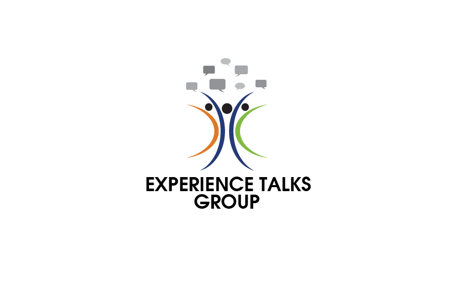Logo Design by brands_in - Entry No. 26 in the Logo Design Contest Captivating Logo Design for Experience Talks Group.
