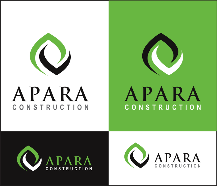 Logo Design by Armada Jamaluddin - Entry No. 208 in the Logo Design Contest Apara Construction Logo Design.
