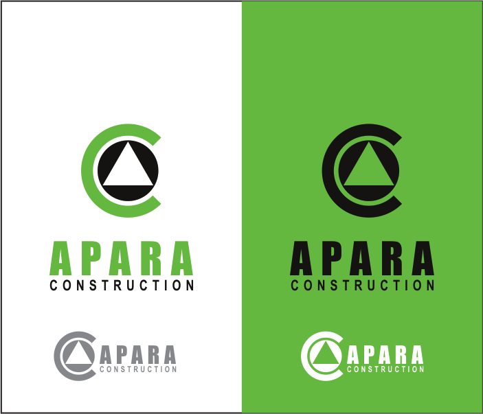 Logo Design by Armada Jamaluddin - Entry No. 209 in the Logo Design Contest Apara Construction Logo Design.