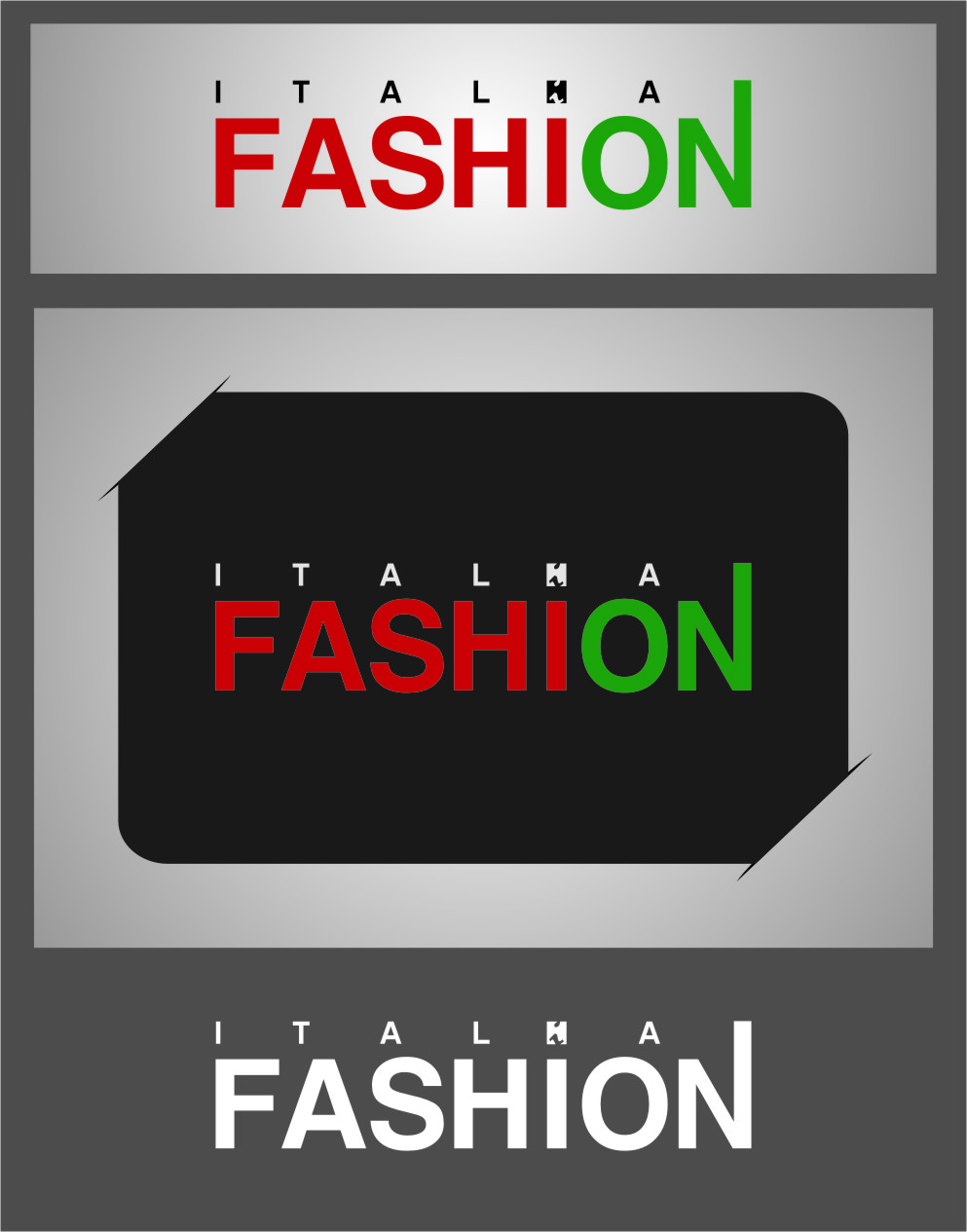 Logo Design by Ngepet_art - Entry No. 70 in the Logo Design Contest Logo for Web Page ItalianFashion.cz.