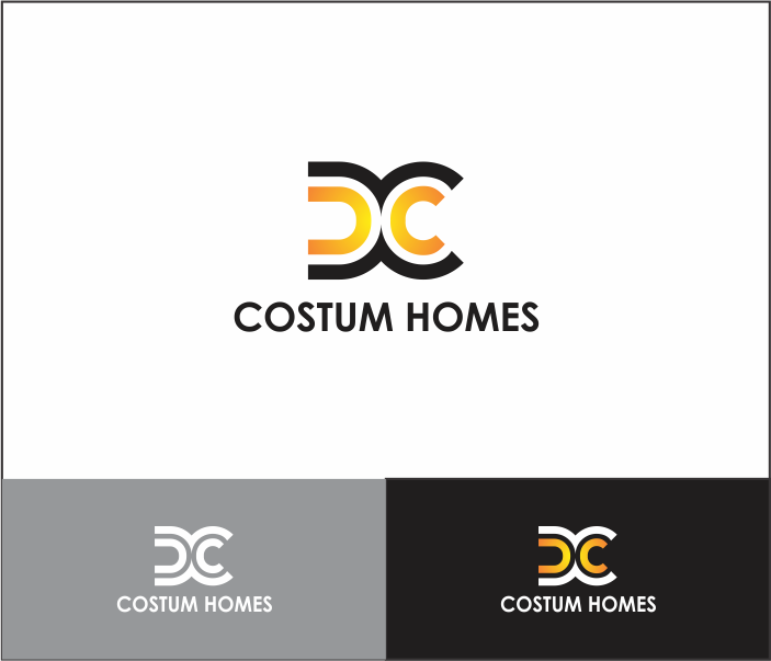 Logo Design by Armada Jamaluddin - Entry No. 118 in the Logo Design Contest Creative Logo Design for DC Custom Homes.