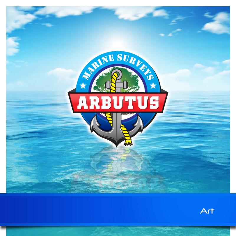 Logo Design by Puspita Wahyuni - Entry No. 6 in the Logo Design Contest Professional Business Logo Design for Arbutus Marine Surveys.