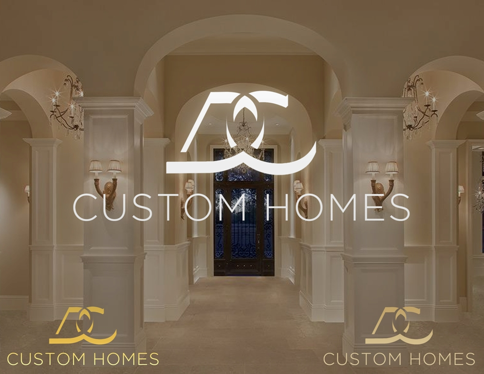 Logo Design by Juan_Kata - Entry No. 124 in the Logo Design Contest Creative Logo Design for DC Custom Homes.