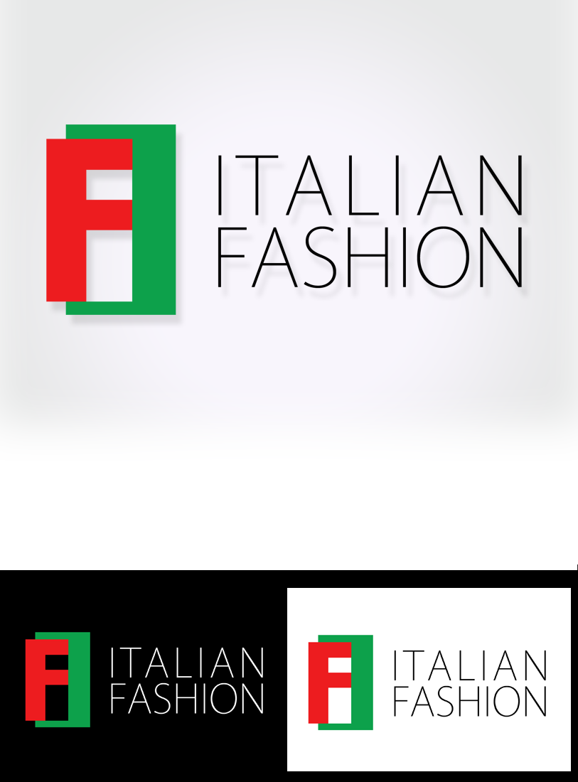 Logo Design by Private User - Entry No. 77 in the Logo Design Contest Logo for Web Page ItalianFashion.cz.