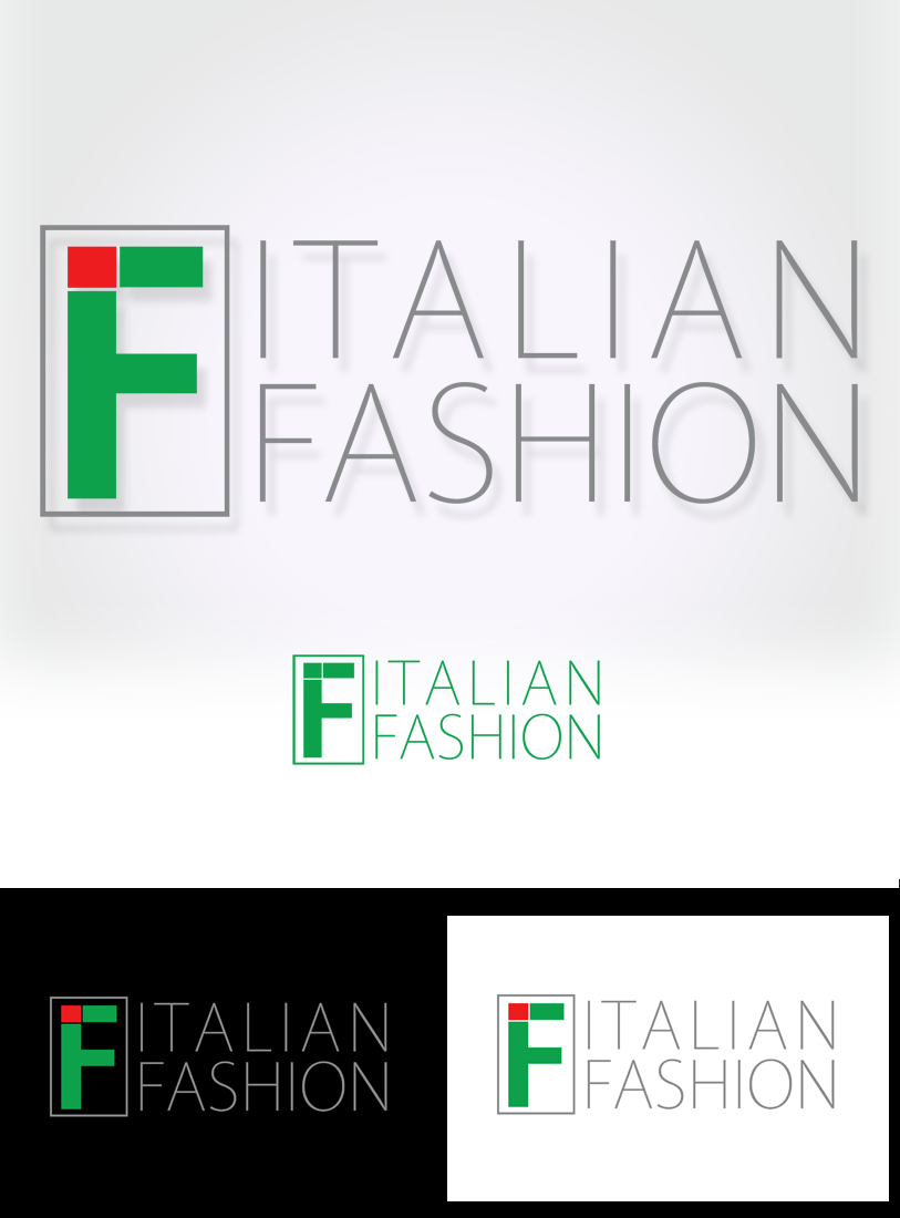 Logo Design by Private User - Entry No. 78 in the Logo Design Contest Logo for Web Page ItalianFashion.cz.