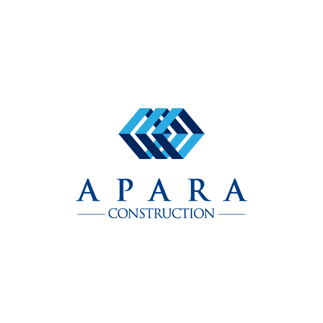 Logo Design by chinie05 - Entry No. 215 in the Logo Design Contest Apara Construction Logo Design.