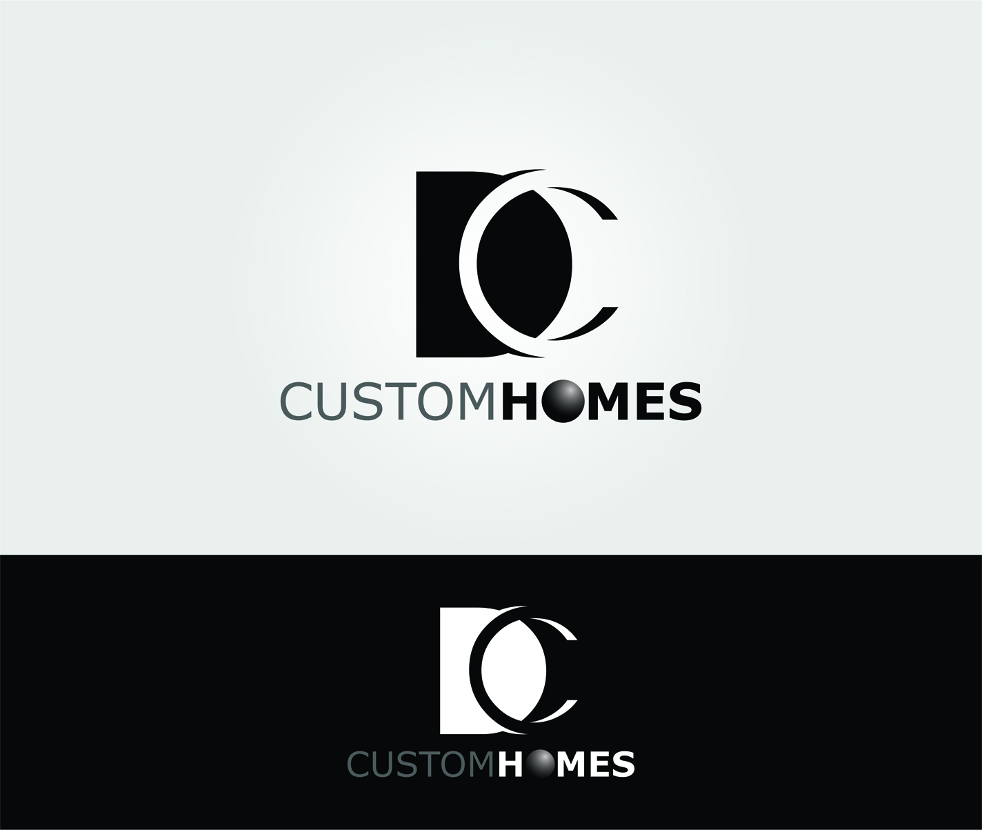 Logo Design by Private User - Entry No. 125 in the Logo Design Contest Creative Logo Design for DC Custom Homes.