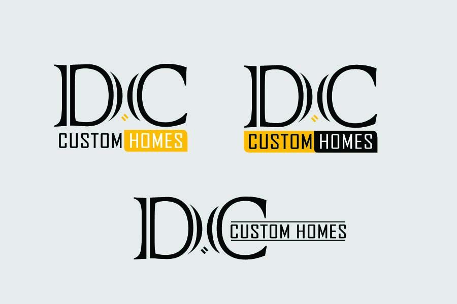 Logo Design by Private User - Entry No. 126 in the Logo Design Contest Creative Logo Design for DC Custom Homes.