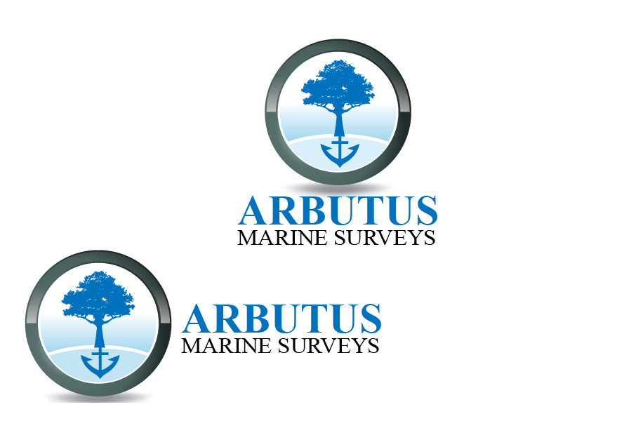 Logo Design by Private User - Entry No. 9 in the Logo Design Contest Professional Business Logo Design for Arbutus Marine Surveys.