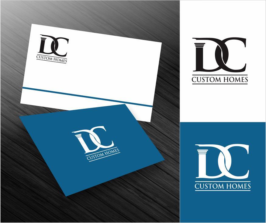 Logo Design by ronny - Entry No. 127 in the Logo Design Contest Creative Logo Design for DC Custom Homes.